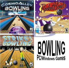 BOWLING SOFTWARE GAMES Windows PC XP Vista 7 8 10 NEW Factory Sealed
