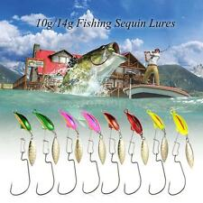 Fishing Tackle Minnow Fishing lures Swim Crank Hard Bait Fish Hooks C2D6