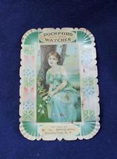 ROCKFORD HIGH GRADE WATCHES TIP TRAY BC BROWN COHOCTON NY~ BEACH CO COSHOCTON OH