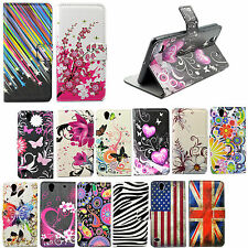 Women Men Flip Leather Wallet Cover Case For Samsung Galaxy Core Prime G360 J3