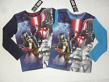 BNWT 1 star wars top / t-shirt.vader / trooper.6-7,7-8,8-9,9-10 or 10-11yrs