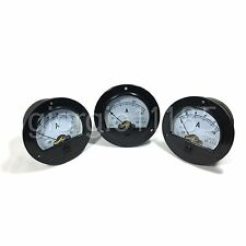 5pcs DC5 ~ 1000A + Shunt 10 Values New Round Analog AMP Panel Meter