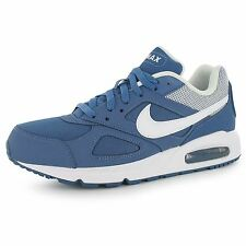 Nike Air Max Ivo Training Shoes Mens Blue/White Sports Fitness Trainers Sneakers