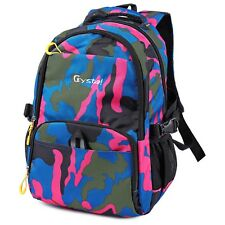 Trendy Print Breathable Nylon Unisex Outdoor Travel Backpack Camouflage Bag AAU