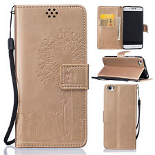 Hot Leather Filp Love Patterns Stand With Card Wallet Case Cover For XiaoMi Mi 5