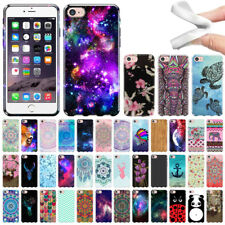 """For Apple iPhone 7 4.7"""" AT&T Various Pattern TPU SILICONE Soft Rubber Case Cover"""
