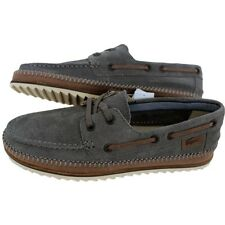 Lacoste Sauville SRM Suede Boat shoes Shoes Sneakers Leather gray Low shoes