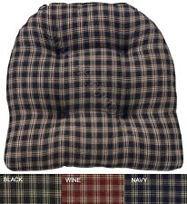Sturbridge Chair Pad with Ties by Park Designs, Choice of 3 Colors, Prim Country