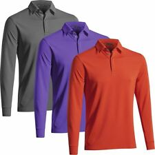 Mizuno AW16 Breath Thermo Drylite Training Top Mens Long Sleeve Golf Polo Shirt