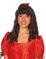Adult Ladies Ringlet Wig for 40s 50s Fancy Dress Accessory