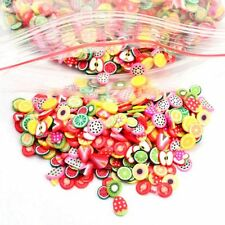 1000 DIY Nail Art Sticker Fimo Flower Fruit Animal Slice Clay Decoration Decal