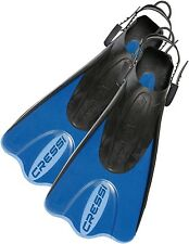 Cressi Palau Light Weight Travel Snorkeling Swim Fins (Made in Italy)