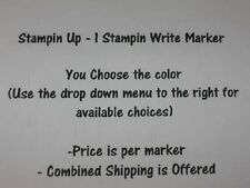 Stampin Up 1 Write Dual Tip Marker - Pick your Color - IN COLOR