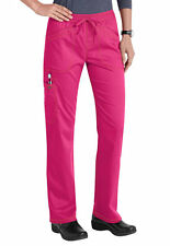 Dickies Medical Scrubs Women's Essence Hot Pink Straight Leg Pants Sz XS-XXL NWT