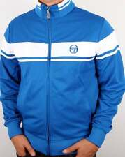 Sergio Tacchini Masters Track Top in Royal Blue & White - dallas 80s casual