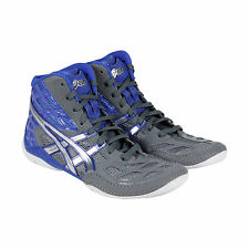 Asics Split Second 9 Mens Blue Black Synthetic Athletic Lace Up Training Shoes