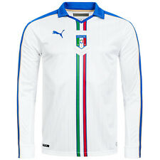 Italy PUMA Men's Away Long Sleeve Jersey 747400-02 Football Jersey XS-2XL new