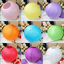 "10pcs 8""/10"" Chinese Paper Lantern Assorted Wedding Party Home Decoration"