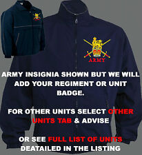 UNIT I-N BLUE MILITARY ARMY RAF ROYAL NAVY MARINES TRAINING JACKET SHIRT BAG