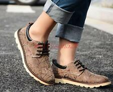 Fashion Mens Oxfords canvas breathable  lace up sport sneaker shoes plus size