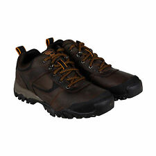 Timberland Mt. Abram Mens Brown Leather Hiking Lace Up Boots Shoes