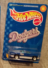 Hot Wheels LA Dodgers Ball Team Exclusive Dodge Ram Truck with Real Rider Tires