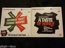 SATURDAY NIGHT SUNDAY MORNING & A TASTE OF HONEY - DVDs DAILY TELEGRAPH
