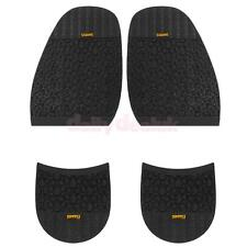 Footful Pair Rubber Glue on Half Soles + Heels Anti Slip Shoes Repair Supplies