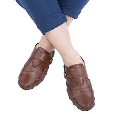 Mens Leather Look Casual Loafers Moccasins Slip on Boot Shoes Driving Shoes AAU