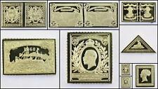 100 Greatest Stamps Collection .925 Silver Bar Replicas Africa Postage Stamp
