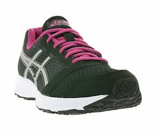 NEW asics Patriot 8 Shoes Ladies Running Shoes Trainers Black T669N 9093 Sports