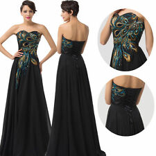 PLUS SIZE 2-24W Chiffon Bridesmaid Dress Formal Long Evening Prom Party Gown