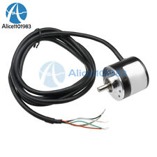 360/600P/R Photoelectric Incremental Rotary Encoder 5V-24V AB Two Phases Shaft