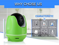 WIFI Wireless IP CCTV Camera PT Security Network IR Night Vision Monitor Cam Zy
