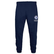 Chelsea FC Official Soccer Gift Boys Slim Fit Fleece Joggers Jog Pants