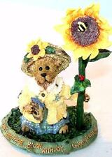 Boyds Bears BLOOM WITH JOY! FIGURINE Bearstone Collection Resin Figurine