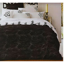 HYPNOTIC Black White Quilt Doona Cover Set by Accessorize - QUEEN KING