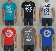 NWT HOLLISTER HCO Men Muscle Slim Fit BEACON'S BEACH T Shirt By Abercrombie