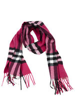 Burberry Scarf Scarves % Cashmere Man Purples 3895093-