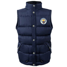 Manchester City FC Official Football Gift Mens Padded Body Warmer Jacket Gilet