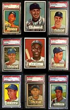 1952 Topps High Number Almost Complete Set VG O2279