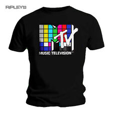 Official Black T Shirt MTV Music Television Classic Logo All Sizes