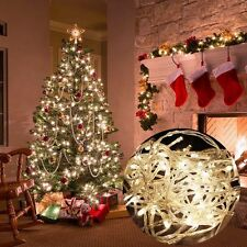 10M 100 LED Christmas Tree Fairy String Party Lights Lamp Xmas Waterproof HOT