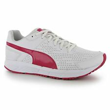 Puma Sequence Trainers Womens White/Pink Gym Fitness Workout Trainers Sneakers