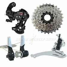 SHIMANO 3 (2) x 7 Speed Road Groupset 4 pcs , Down-Tube