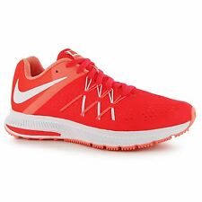 Nike Zoom Winflo 3 Running Shoes Womens Red/White Run Fitness Trainers Sneakers