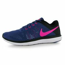 Nike Flex 2016 Running Shoes Womens Purple/Pink Run Fitness Trainers Sneakers