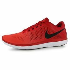 Nike Flex 2016 Running Shoes Mens Red/Black Fitness Sports Trainers Sneakers