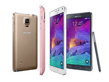 "Unlocked 5.7"" Samsung Galaxy Note 4 4G LTE Android GSM Smartphone 32GB USCH"