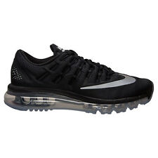 AUTHENTIC NIKE Air Max 2016 Blk Reflec Silver # 807236 001 Youth Boys & Girls sz
